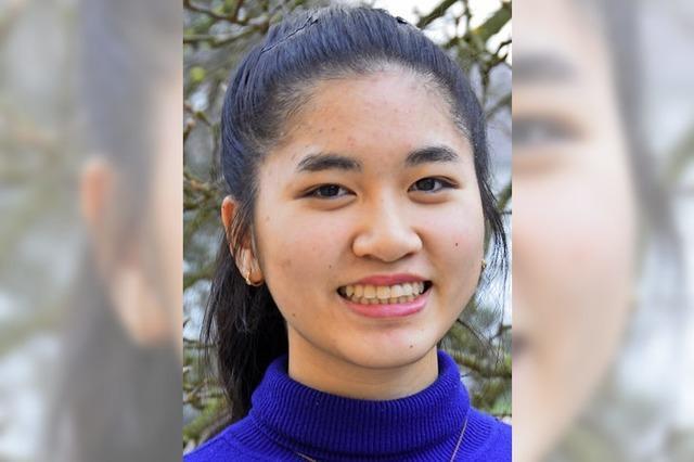 Yumi Frey hat den ersten Denzlinger Schreibwettbewerb gewonnen