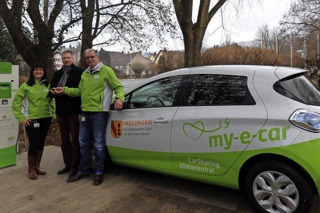 Das e-Carsharing-Projekt läuft in Inzlingen an