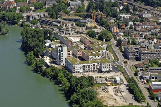 Noch mehr Wohnungen im Salmenpark
