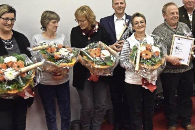 Winzerkeller Auggener Schäf ehrt Mitglieder