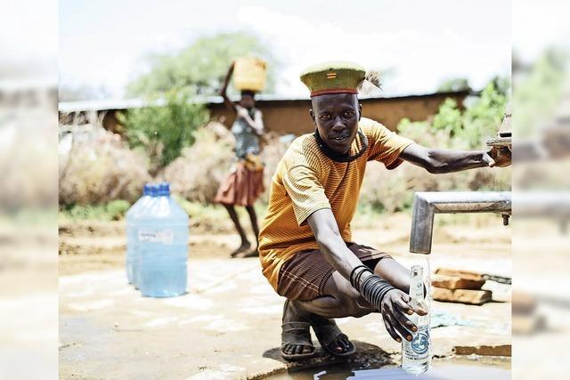 Weihnachtliches Wassergeld wird nach Afrika geleitet
