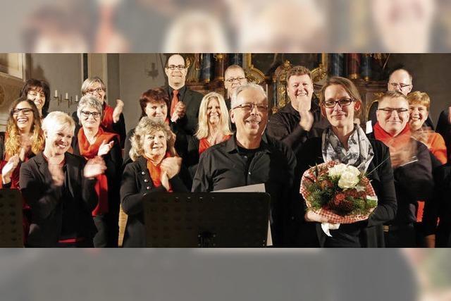 Ovationen für die New Gospel Singers