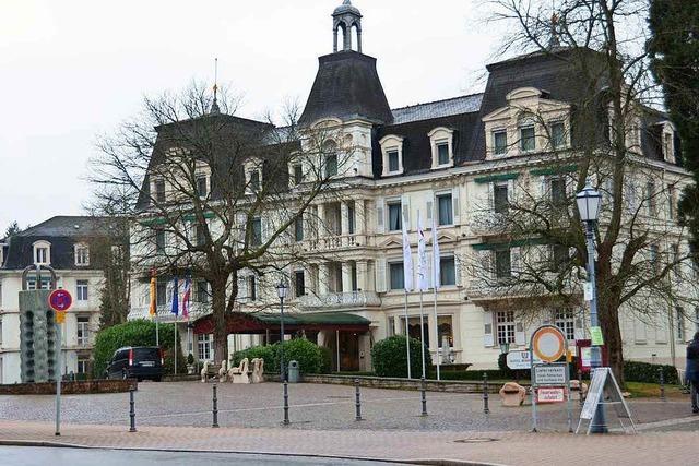 Sanierungsarbeiten im Hotel Römerbad verzögern sich
