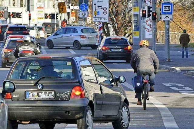 Stadt und Polizei analysieren Radunfälle auf der Heinrich-von-Stephan-Straße