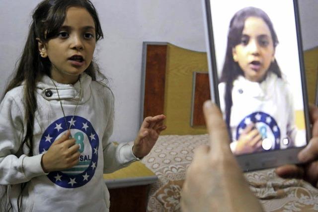 Bana, die siebenjährige Twitterin aus Aleppo, ist in Sicherheit