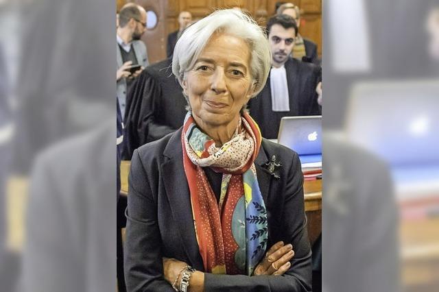 Keine Strafe für Lagarde – aber auch kein Freispruch