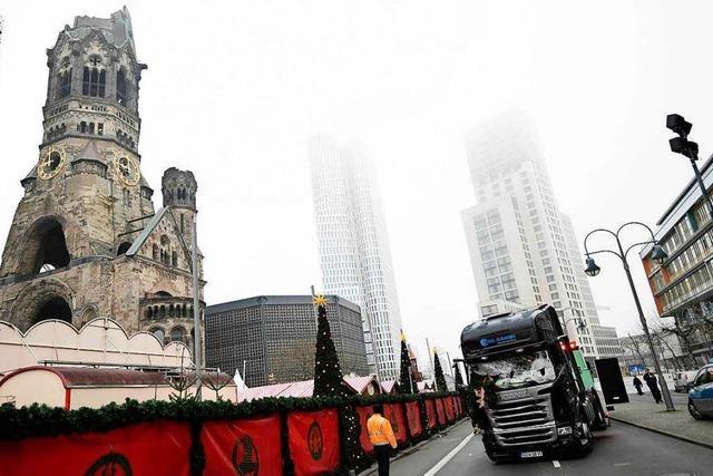 Berlin nach Lkw-Todesfahrt auf Weihnachtsmarkt unter Schock
