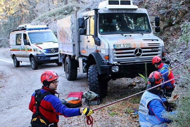 Die Bergwacht am Feldberg rettet ab jetzt mit einem neuen Unimog