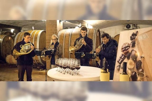Musik und Wein für einen guten Zweck