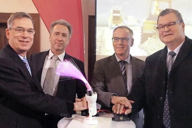 Schnelleres Internet für Kenzingen und Malterdingen gestartet