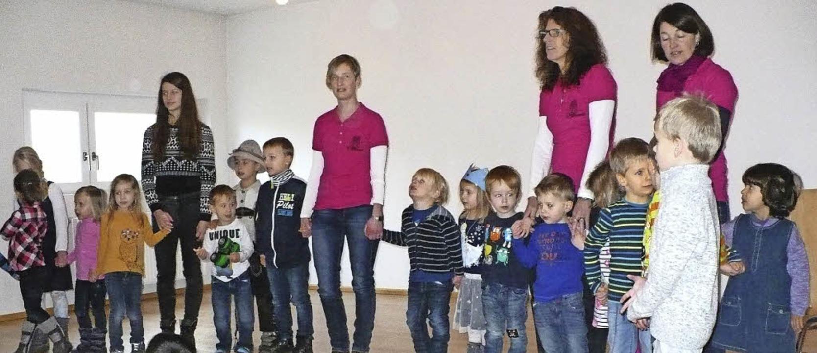 Einen gemeinsamen Adventsnachmittag fü...herinnen des Kindergartens St. Josef.     Foto: Gertrud Rittner