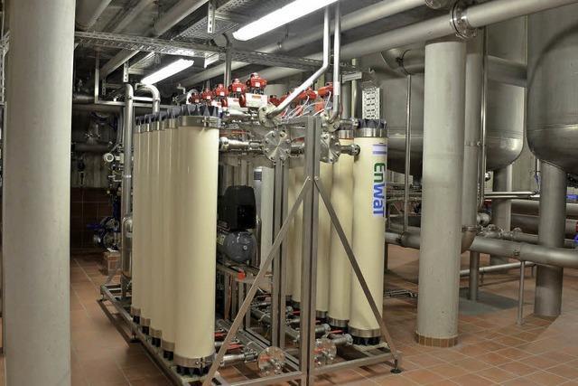 2,1 Millionen Euro soll die neue Aufbereitungsanlage Wasserwerk Kuckucksbad in Bollschweil kosten