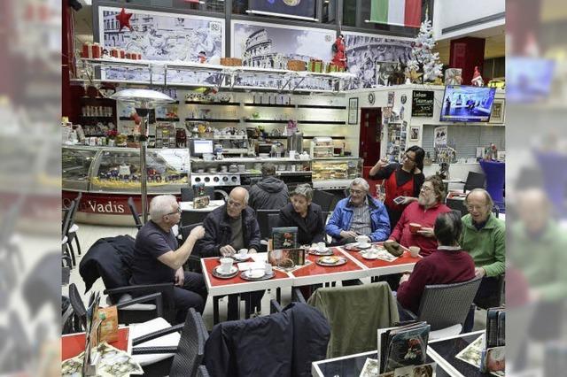 Eiscafé-Betreiber im