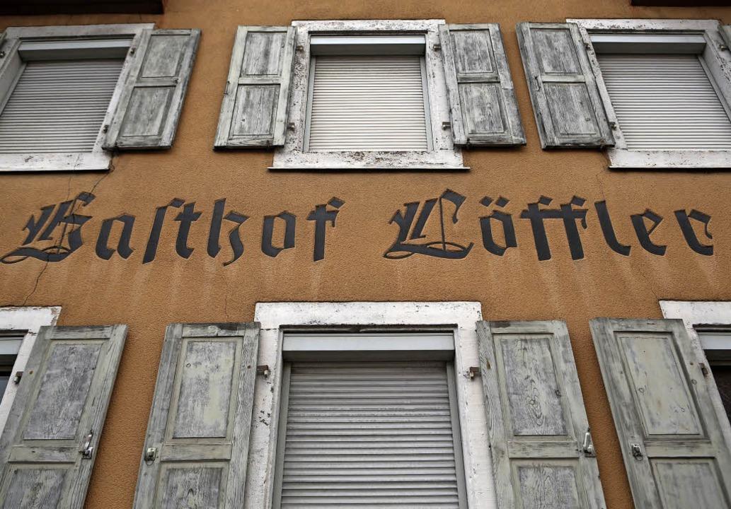 Im Haushalt des nächsten Jahres sind a...Abriss des Löffler-Areals vorgesehen.     Foto: Ch. Breithaupt