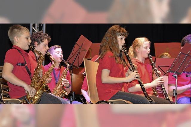 Jugendorchester des Musikvereins Herten gibt Zugabe