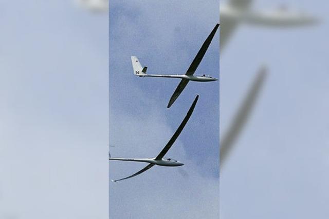 Schwacher Aufwind bei Segelfluggruppe