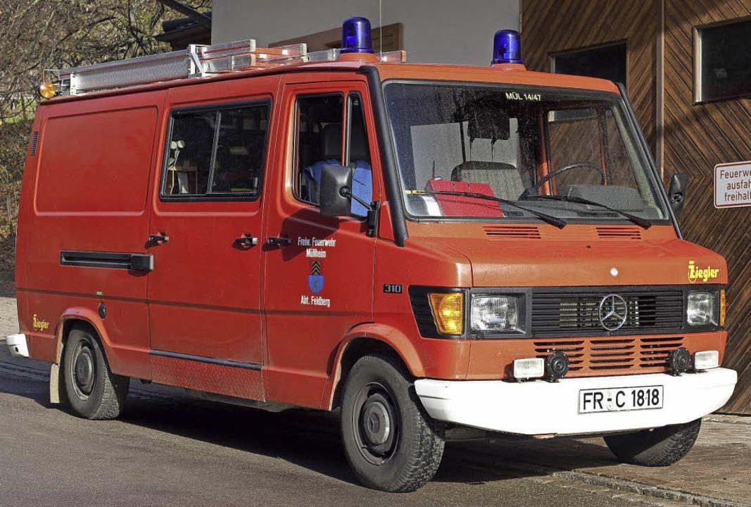 Dieses Einsatzfahrzeug in Feldberg zäh...n den kommenden Jahren ersetzt werden.    Foto: Volker Münch