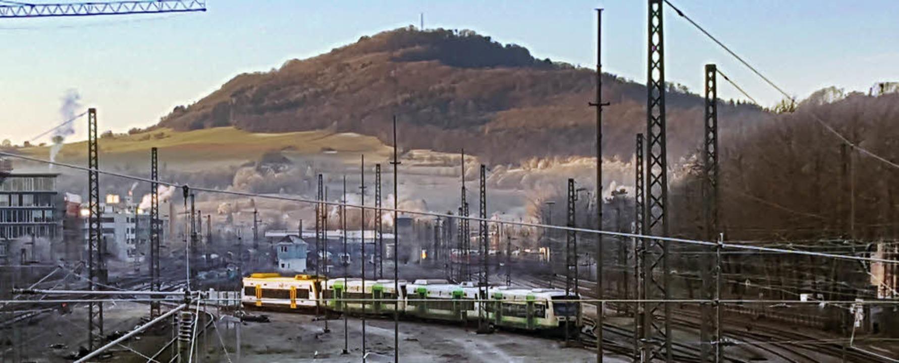Der Ausbau der Breisgau-S-Bahn ist eines der wichtigsten Infrastrukturprojekte.  | Foto: Sebastian Wolfrum/Peter Stellmach