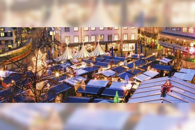 Erhöhte Einsatzbereitschaft der Polizei beim Basler Weihnachtsmarkt