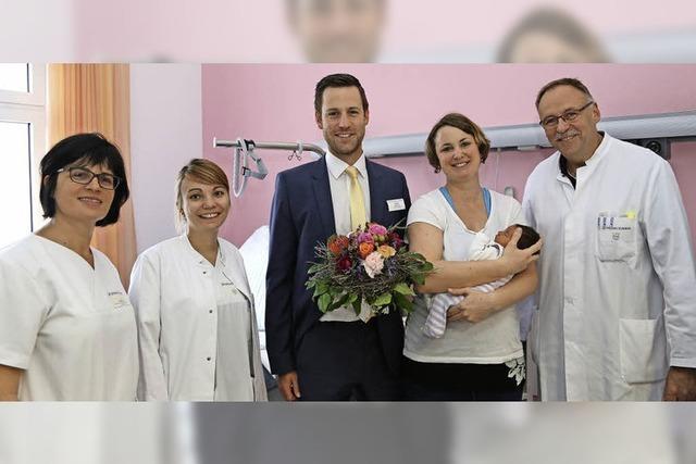 Das 2000. Baby am Klinikum Offenburg