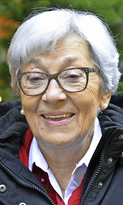<BZ-Keyword>Brunhilde Bouquerot (83)</...s so viel Hass in der Welt ist.&#8220;    Foto: Michael Bamberger