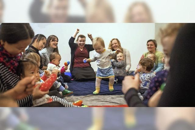 In Berlin gibt's einen Sing- und Tanzkurs für Babys