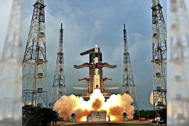 China und Indien verfolgen ein ehrgeiziges Raumfahrtprogramm