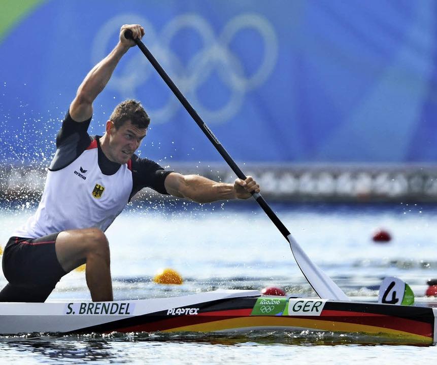 Allein Sebastian Brendel gewann zwei Goldmedaillen bei den Spielen in Rio.   | Foto: DPA
