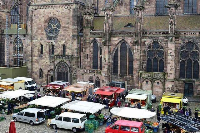 Was Freiburger zur Neuvergabe der Wurststände auf dem Münsterplatz sagen