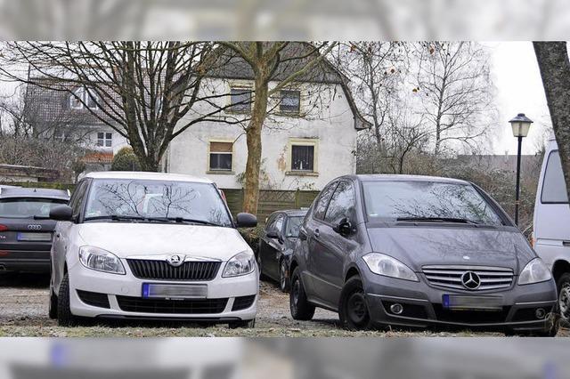 Wohnhaus soll für 30 Parkplätze weichen
