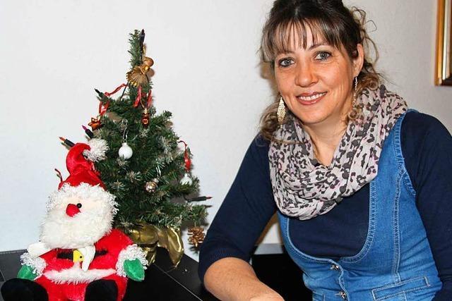 Wie Maria Butiurcà aus Rumänien in Eichstetten Weihnachten feiert