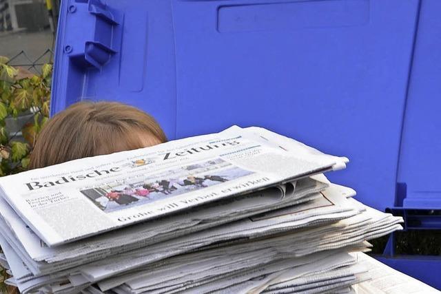 Aufwand lohnt nicht: Ruderclub tritt Altpapiersammlung in die Tonne