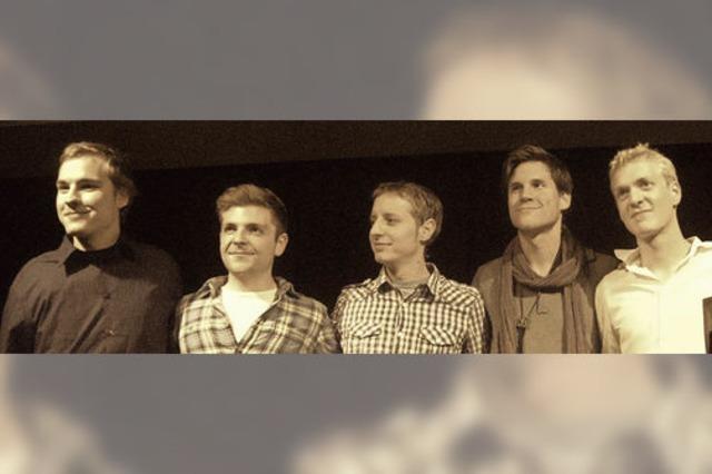 Band mit gemeinsamen Wurzeln in der Musikschule Offenburg spielen im KiK