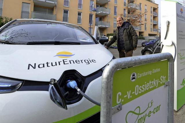 Stadtmobil Südbaden hat jetzt Elektroautos im Betrieb