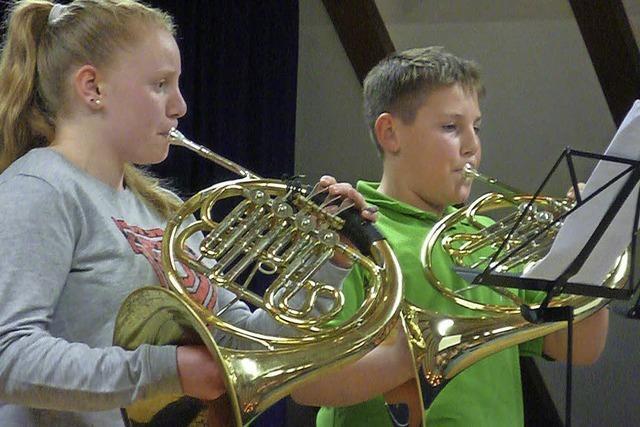 Musikernachwuchs kann's