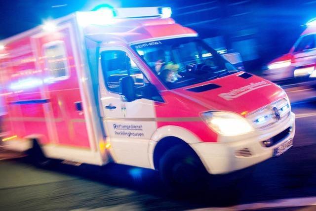 Gebäudebrand in Jechtingen: Feuerwehr verhindert Schlimmeres