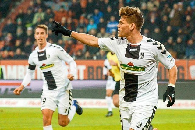 SC Freiburg siegt zum Jahresabschluss in Ingolstadt mit 2:1