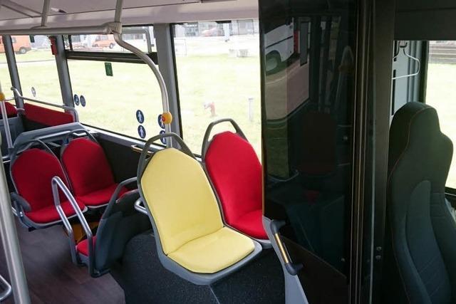 Gelber Sitz im Genscher-Bus