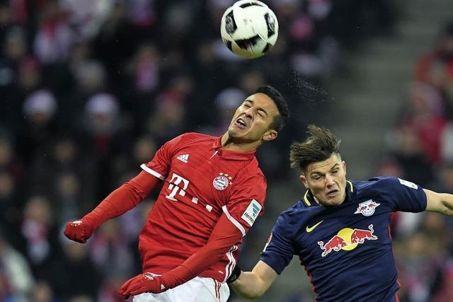 Bayern München geht als Herbstmeister in die Pause