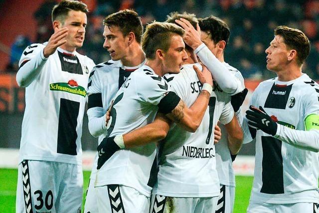 SC Freiburg feiert 2:1-Auswärtssieg in Ingolstadt