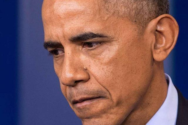 Barack Obama kämpft um sein Erbe