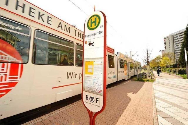 Versuchter Raub an der Haltestelle Bugginger Straße – Diebin flüchtet in der Tram