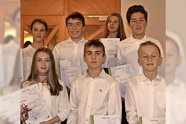 Auszeichnung für Jungmusiker