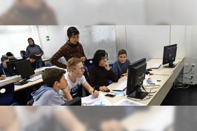 16 Jugendliche des Kreisgymnasiums werden Schüler-Medienmentoren