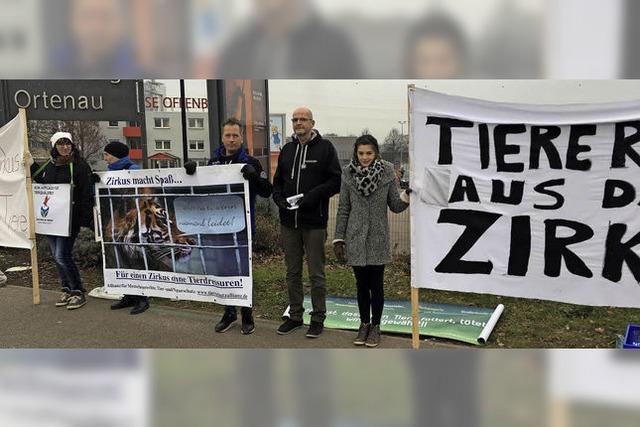 Protest gegen Wildtierauftritt