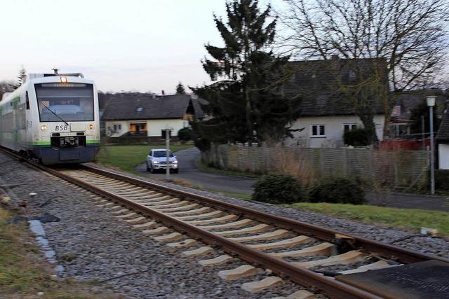 Gottenheim will Bahnpläne abändern