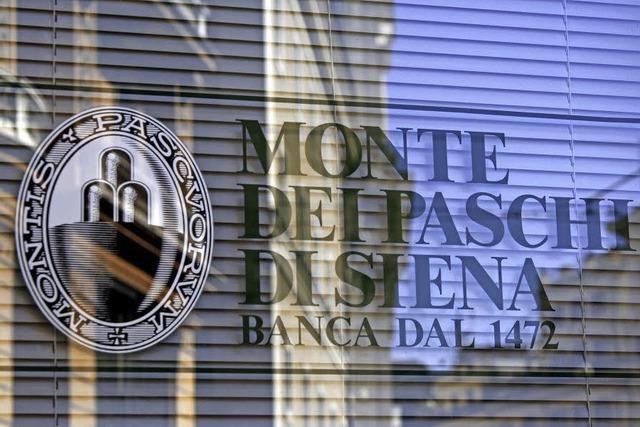 Der Staat wird die Krisenbank MPS retten