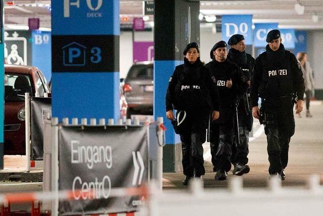 Polizei verhindert möglicherweise Anschlag auf Einkaufszentrum in Oberhausen