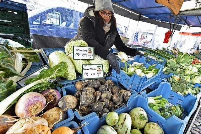 Im Dezember ist der Münstermarkt Apotheke und Geschenkboutique zugleich