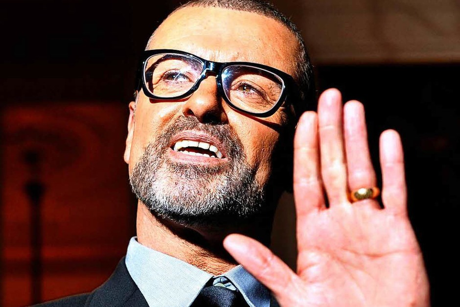 George Michael 2011 in London. (Foto: dpa)